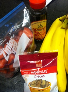 Fruit, nuts, and agave