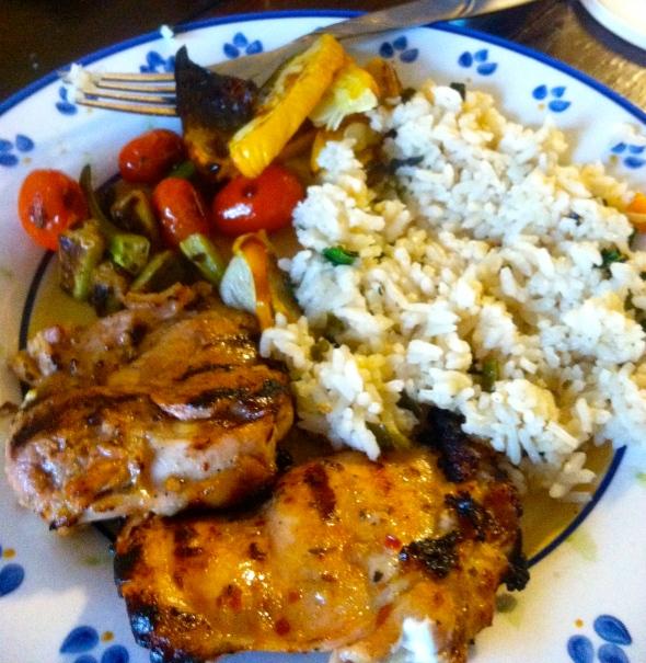 Dinner for the carnivore
